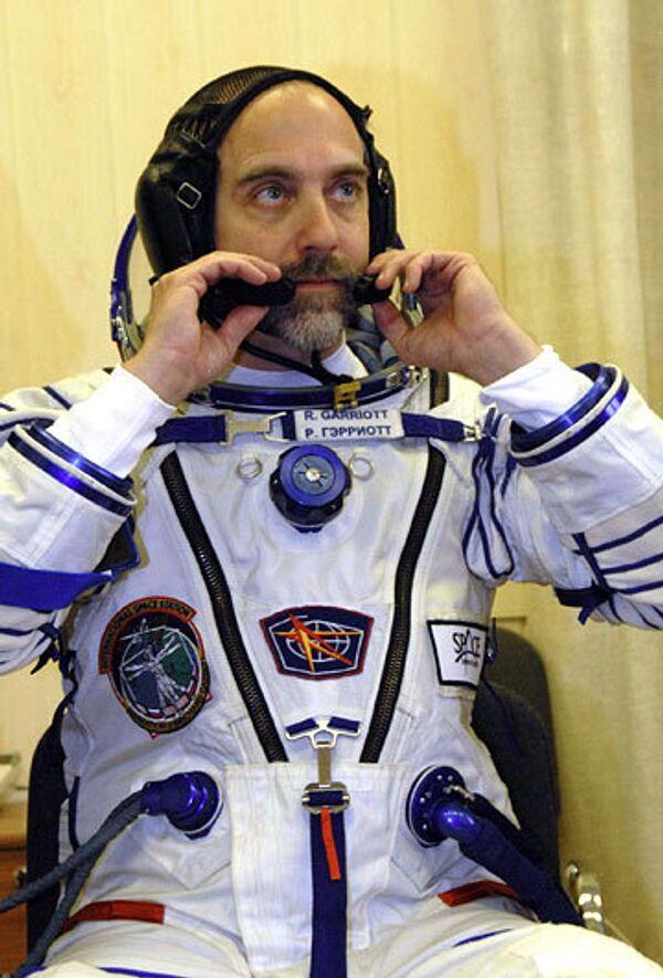 Космический турист из США Ричард Гэрриот