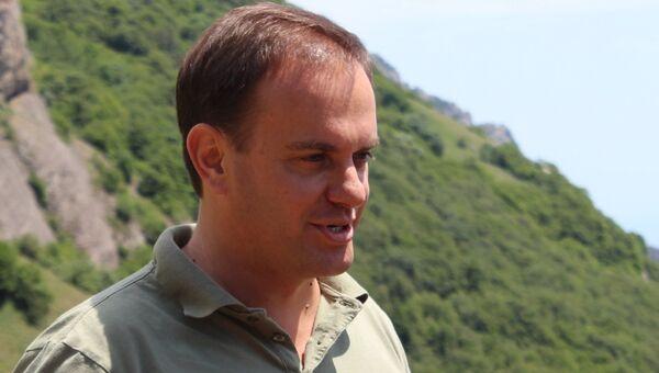 Министр курортов и туризма Республики Крым Вадим Волченко. Архивное фото