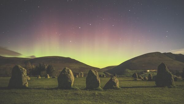 Работа фотографа Matthew James Turner Castlerigg Stone Circle. Конкурс Insight Astronomy Photographer of the year 2018