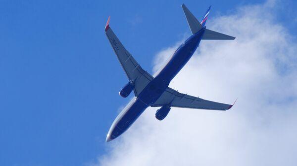 Самолет Boeing 737. Архивное офто