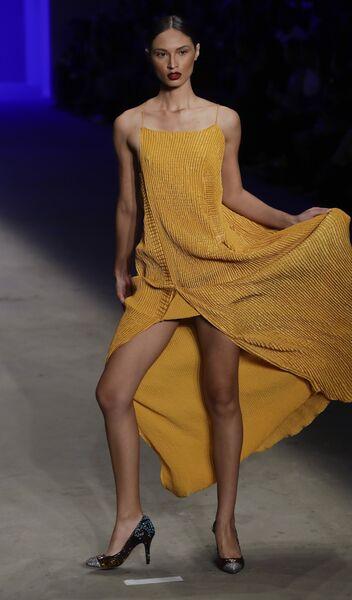 Показ коллекции Lino Villaventura на Неделе моды в Сан-Паулу