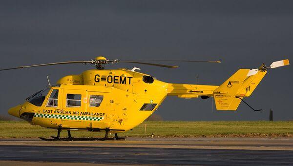 Вертолет медицинской службы Великобритании. Архивное фото