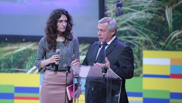 Губернатор Ростовской области Василий Голубев, 23 октября 2018