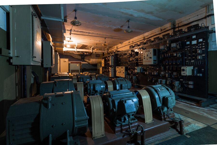 Беларусь. Машинный зал принимающего радиоцентра с позывным Рубрика