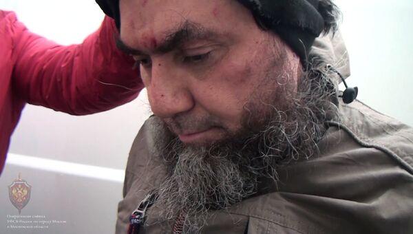 Один из шести задержанных сотрудниками ФСБ РФ участников международной террористической организации Исламское государство (террористическая организация, запрещенная в России) в Москве