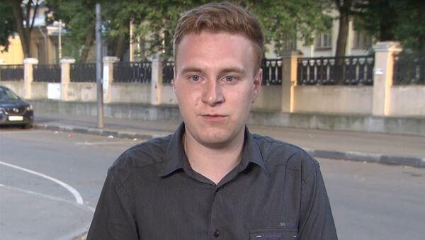 Корреспондент НТВ Никита Развозжаев. Архивное фото