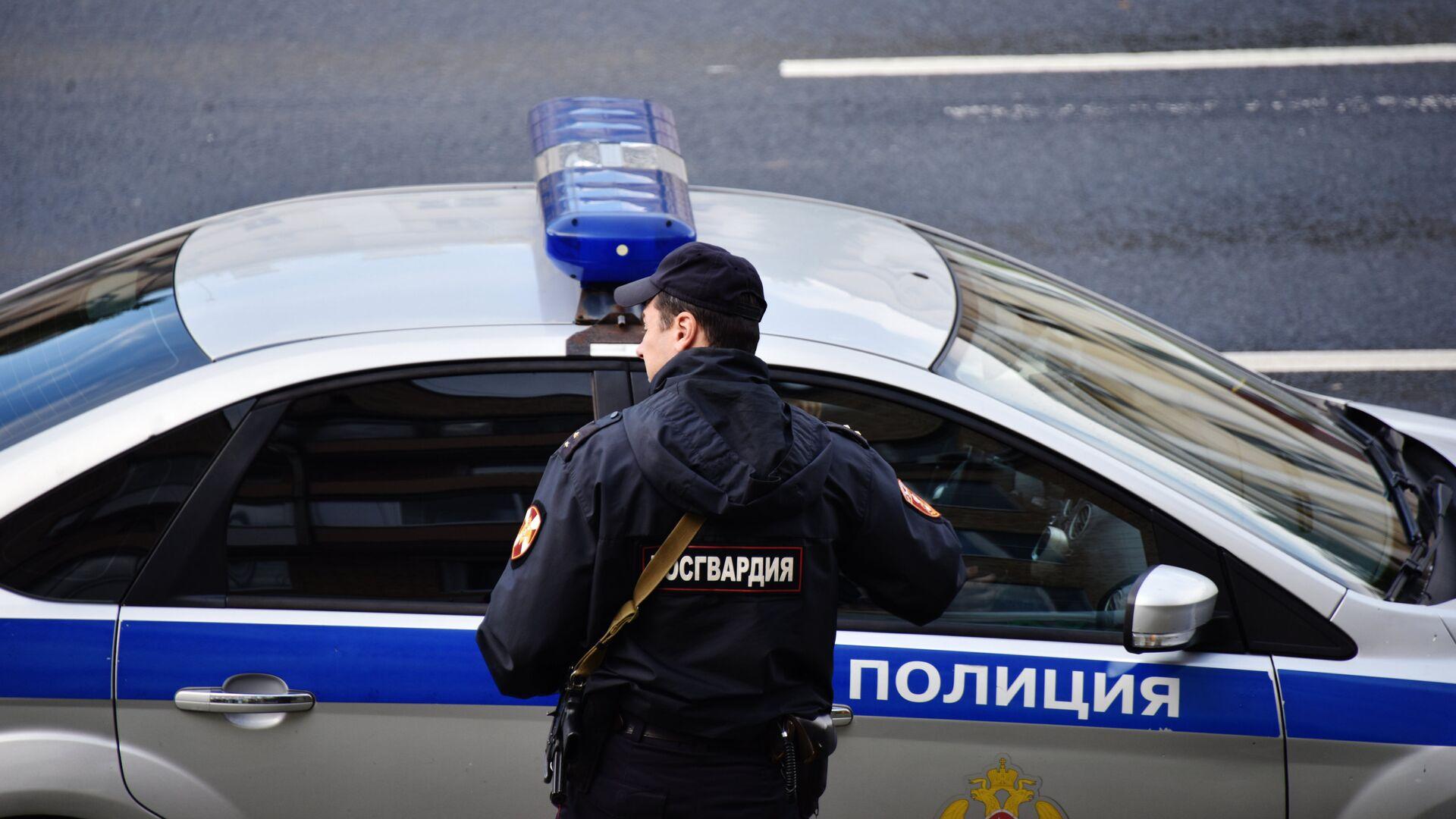 Автомобиль полиции - РИА Новости, 1920, 30.12.2020