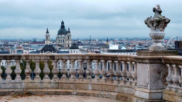 Вид на Базилику Святого Стефана в Будапеште
