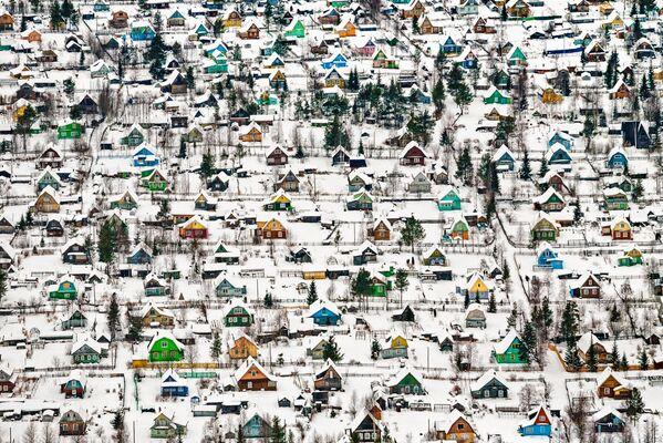 Снимок Игрушечные дома российского фотографа Федора Савинцева, занявший первое место в категории Architecture & Urban Spaces в конкурсе Siena International Photo Awards 2018