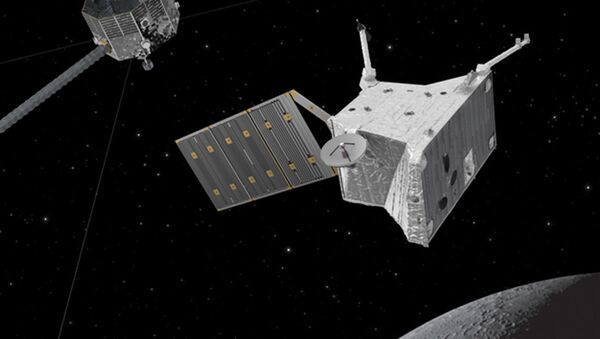 Миссия BepiColombo на Меркурии