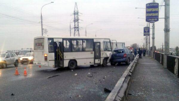 ДТП на Лебедянском шоссе города Липецка. 31 октября 2018