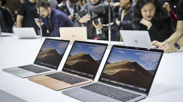 Новые ноутбуки MacBook Air компании Apple. 30 октября 2018 года