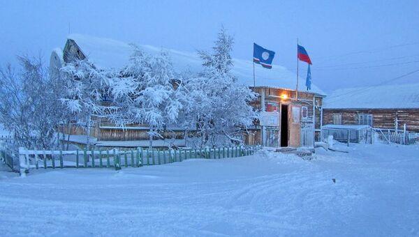 Село Андрюшкино в Якутии