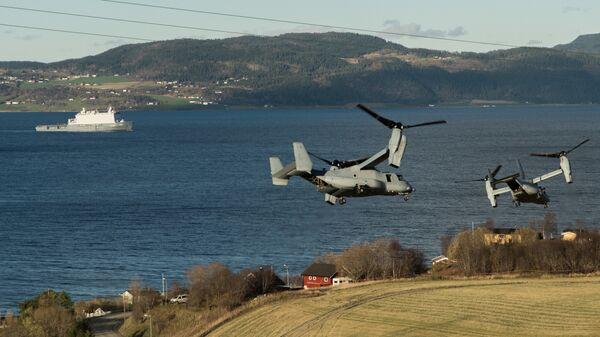 Совместные учения НАТО Trident Juncture 2018 (Единый трезубец) в Норвегии