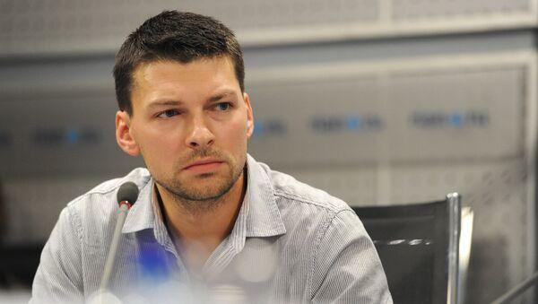 Актер Даниил Страхов. Архивное фото