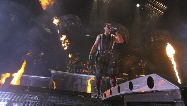 Солист группы Rammstein Тилль Линдеманн. Архивное фото