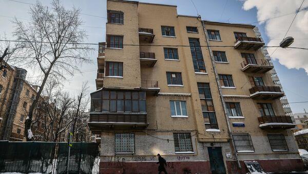 Конструктивистский квартал Погодинская