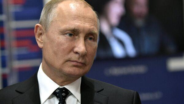 Президент РФ Владимир Путин. Архивное фото.