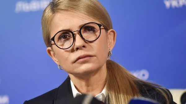 """Тимошенко: """"Батькивщина"""" из-за коронавируса приостанавливает оппозиционность к власти"""