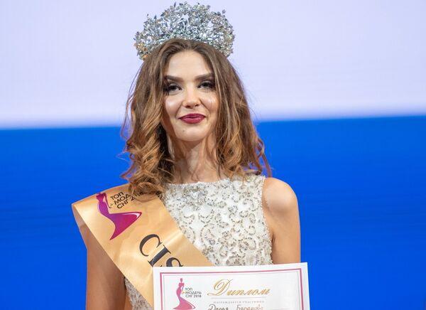 Победительница конкурса красоты Топ-модель СНГ-2018 Дарья Баранова. 4 ноября 2018