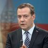 Скриншот видео онлайн-конференции председателя правительства РФ Дмитрия Медведева в Китае