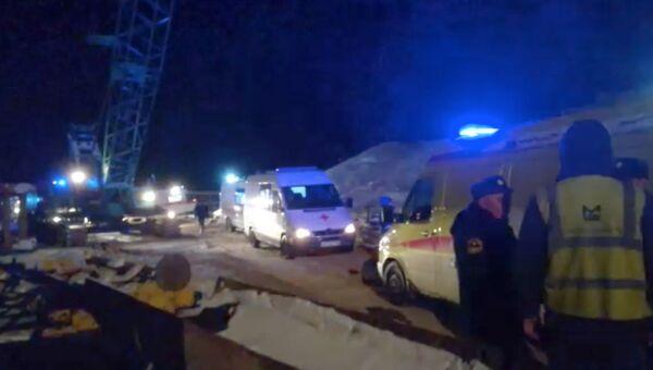 Обрушение моста в Нефтеюганском районе Ханты-Мансийского автономного округа. 5 ноября 2018