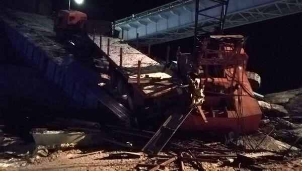 Обрушившийся мост в Югре. 5 ноября 2018