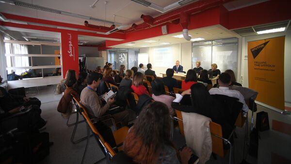 SputnikPro принимает молодых журналистов из стран ближнего зарубежья
