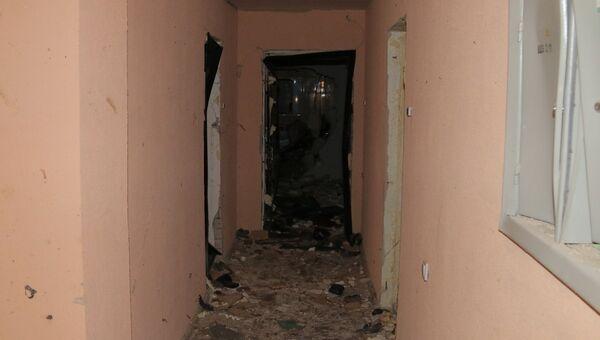 Последствия взрыва бытового газа в десятиэтажном доме в поселке Пригорское Смоленской области