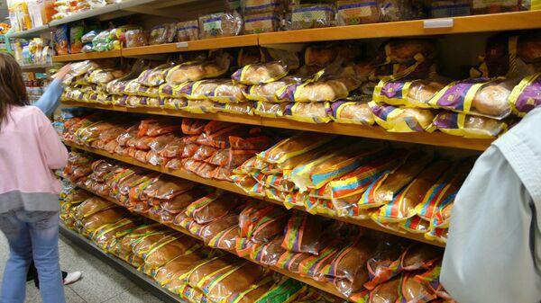 Запах хлеба в супермаркетах