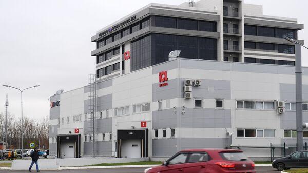 Здание, где расположена линия сборки высокотехнологичных осциллографов на территории ОЭЗ Иннополис