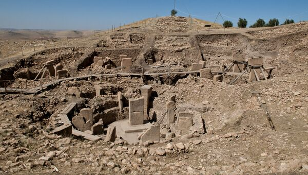Храмовый комплекс Гёбекли-Тепе в Турции