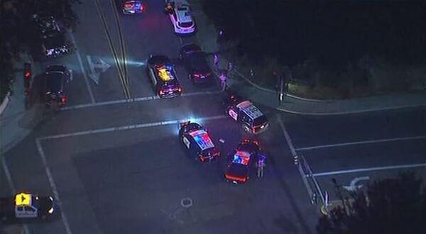 Кадры с места стрельбы в Калифорнии, где погибли более 10 человек
