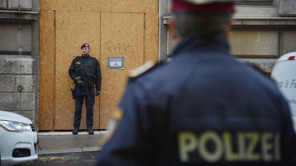 Австрийские полицейские