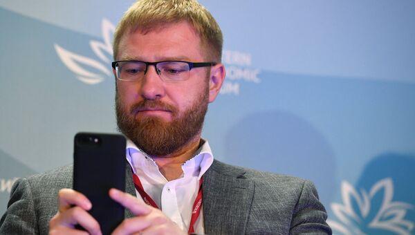 Журналист Александр Малькевич. Архивное фото