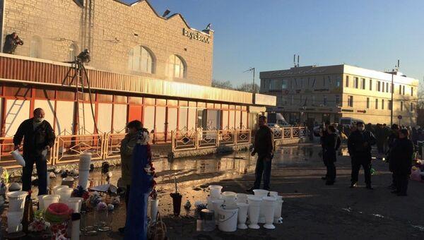 Ликвидация пожара в строении в городском округе Истра. 11 ноября 2018