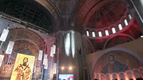 Храм Святого Саввы в Белграде. Архивное фото