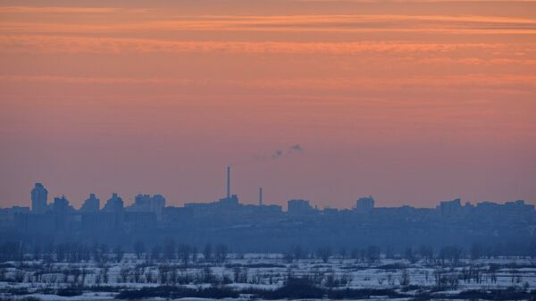 Вид на Барнаул
