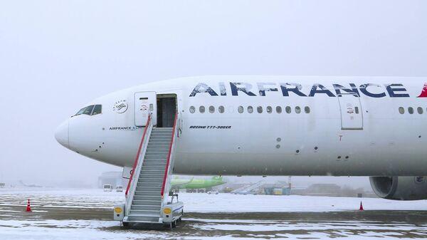Самолет Boeing-777 авиакомпании Air France