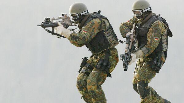 Сотрудники элитного подразделения бундесвера