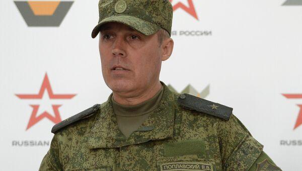 Генерал-майор Евгений Поплавский. Архивное фото