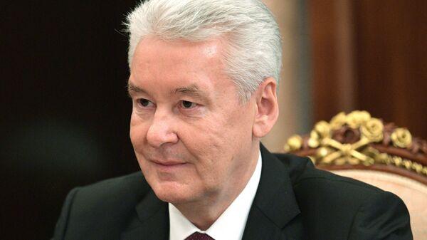 Мэр Москвы С. Собянин. Архивное фото