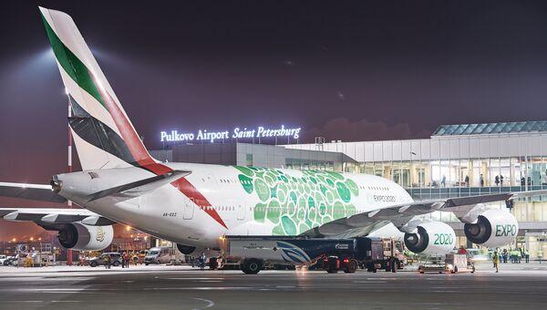 Объем заправок Emirates в Пулково превысил 9,7 тыс тонн – Газпромнефть-Аэро