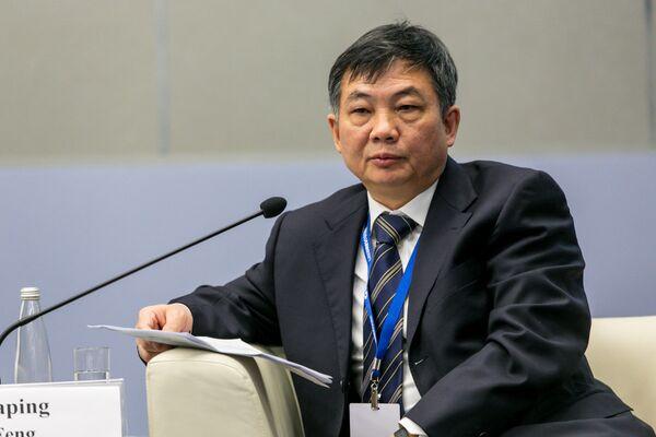 Фэнь Дзянпинь, заместитель Председателя Национальной Федерации лесной промышленности КНР