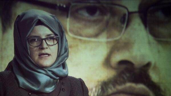 Невеста погибшего саудовского журналиста Джамаля Хашукджи Хатидже Дженгиз