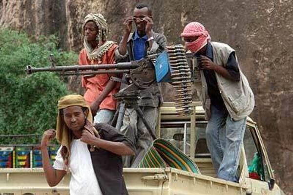 Вооруженные люди в Сомали