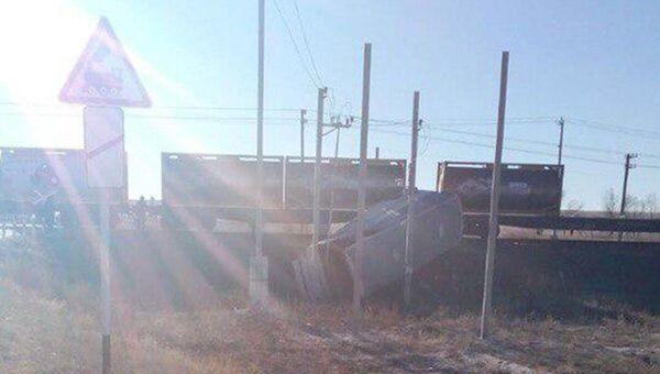 ДТП в результате столкновения рейсового автобуса и грузового поезда в Озинском районе Саратовской области. 17 ноября 2018