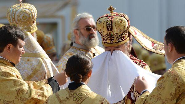 Представители Украинской православной церкви. Архивное фото