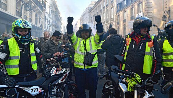 Акции протеста Желтые жилеты. Архивное фото