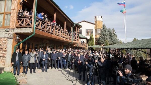 Фольклорно-этнографический фестиваль культуры карачаево-балкарского народа Праздник айрана на Медовых водопадах